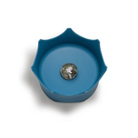 CrownJuwel -Drinknap voor honden en katten - Oceaan blauw