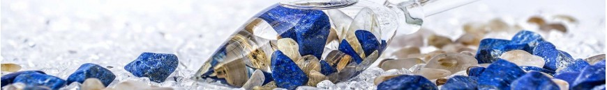 fioles cuillères Vitajuwel minéraux - pierres précieuses dynamisation de l'eau